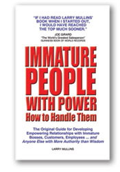 Immature People with Power Book Cover
