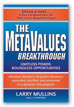 The MetaValues Breakthrough Book Cover