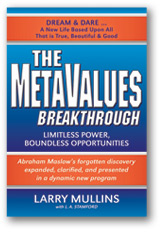 MetaValues Breakthrough Book Cover